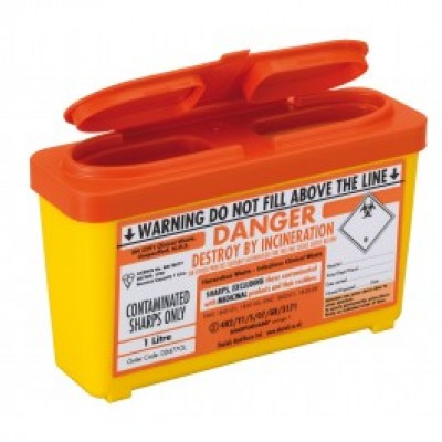 Sharps Container 1.0 Litre