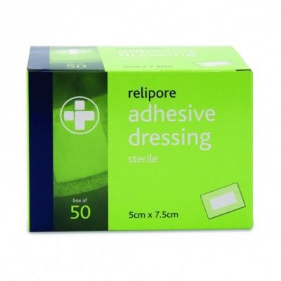 Relipore Adhesive Dressing Pads Sterile