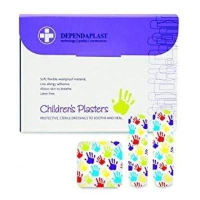 Dependaplast Childrens Washproof Plasters