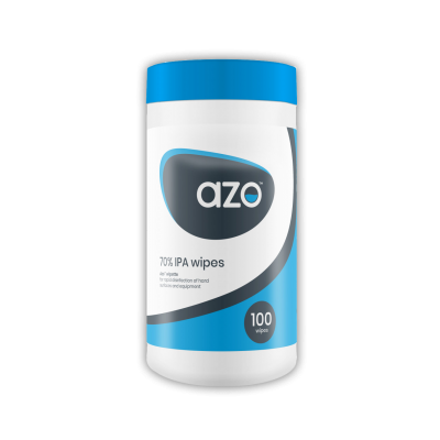 Azo Hard Surface Wipes - Kills 99.999%  (Tub 200)