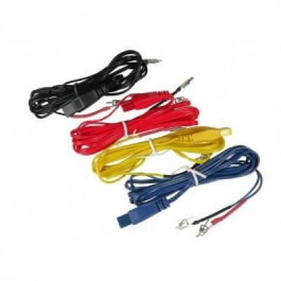 Crocodile clips cable for AS SUPER 4 digital