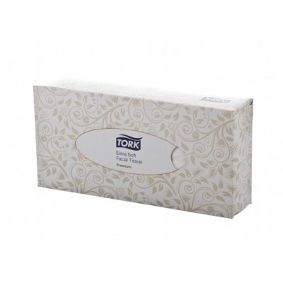 Tork Extra Soft Facial Tissues ( 100 Per Box)