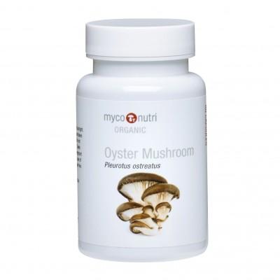 MycoNutri Organic Oyster Mushroom 60 capsules (Pleurotus ostreatus)