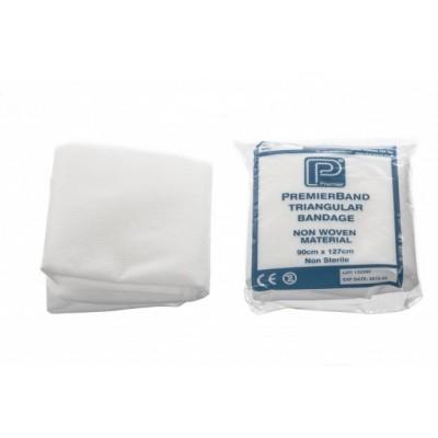 Premier Triangular Non-woven Bandage - White