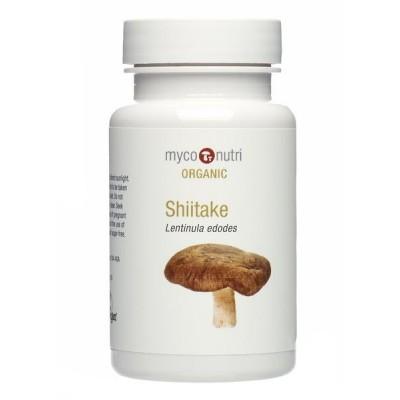 MycoNutri Organic Shiitake 60 capsules (Lentinula edodes)