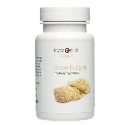 MycoNutri Organic Snow Fungus 60 capsules (Tremella fuciformis)
