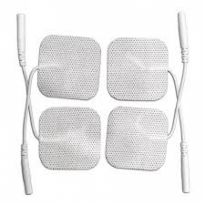 Medical First Reusable Tens Electrodes 5cmx5cm (Pack Of 4)