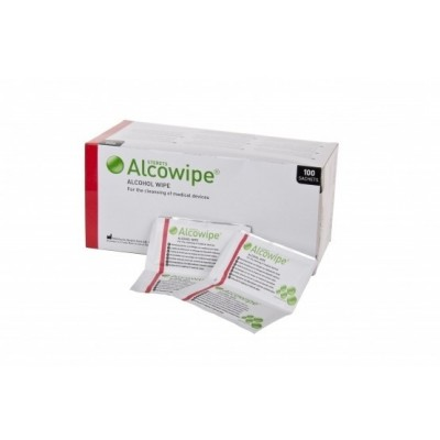 Sterets Alcowipe Alcohol Wipes (100)