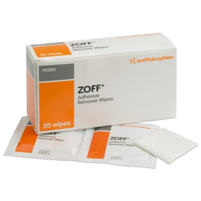 Zoff Adhesive Remover Wipes