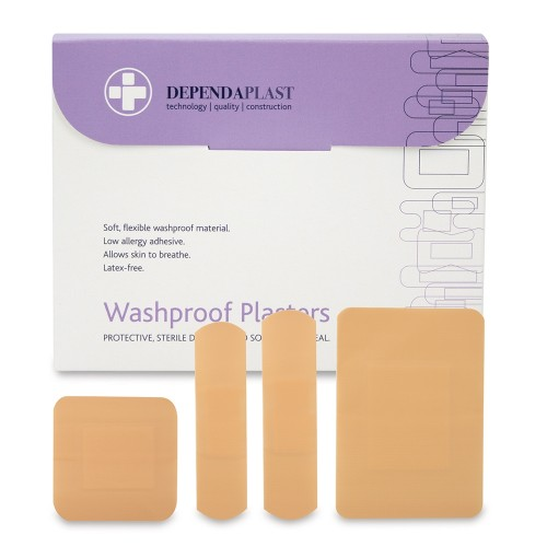 Dependaplast Washproof Plasters